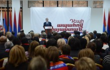 Serzh Sargsyan's speech in Arabkir administrative district