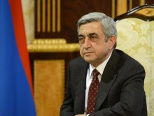 President of the Russian Federation V. Putin congratulated the President-elect Serzh Sargsyan