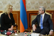 PRESIDENT RECEIVED NATO'S ASSISTANT SECRETARY GENERAL FOR PUBLIC DIPLOMACY, AMBASSADOR KOLINDA GRABAR–KITAROVIĆ