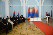 PRESIDENT SERZH SARGSYAN ACCEPTED RESIGNATION OF THE GOVERNMENT OF RA