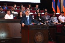 "Tigran Sargsyan: ""Our language will bring us together to make a unified fist"""