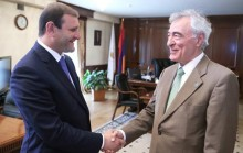 Taron Margaryan had a meeting with the President of the International Dance Council of the UNESCO