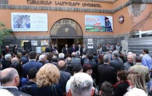 Yerevan Mayor Taron Margaryan participated in the opening of the jubilee exhibition of the artists Hrant Tadevosyan