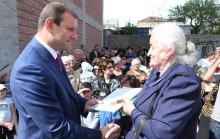 Yerevan Mayor Taron Margaryan participated in the opening of newly-built building at Sisakyan 22