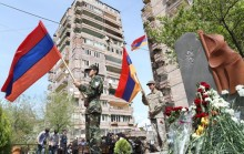 Yerevan Mayor Taron Margaryan participated in the opening of the memorial of the fallen azatamartiks