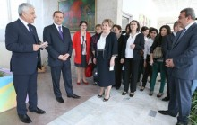 Yerevan Mayor Taron Margaryan participated in the opening of the department of children's rehabilitation service