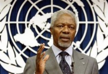 СовБез ООН окажет поддержку миссии Аннана