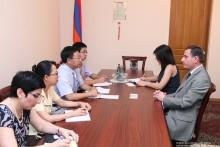 Встреча в Постоянной комиссии НС по внешним сношениям