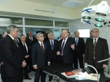 President Serzh Sargsyan made a tour of  Yerevan