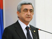 President of Armenia heads to Korea and Singapore