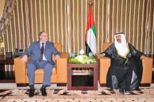 ՀՀ ԱԺ նախագահը հանդիպեց ԱՄԷ Դաշնային Ազգային խորհրդի նախագահի հետ