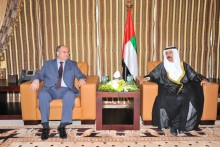 RA NA Speaker Meets the UAE Speaker of the Federal National Council