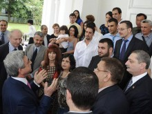 President Serzh Sargsyan met with the representatives of the Armenian community of Singapore