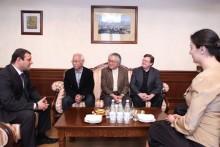 Քաղաքապետը հյուրընկալել է Տոկիո լարային քառյակի անդամներին