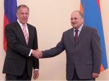 ՀՀ ԱԺ նախագահն ընդունեց ՌԴ արտաքին գործերի նախարար Սերգեյ Լավրովին