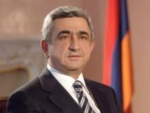 Президент Серж Саргсян направил телеграмму соболезнования в связи с авиакатастрофой, происшедшей под Тюменью