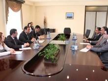 Mayor Taron Margaryan had a meeting with the Ambassador Extraordinary and Plenipotentiary of Kuwait to the RA