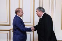 ՀՀ ԱԺ նախագահ Հովիկ Աբրահամյանն ընդունեց Հայաստանում Թուրքմենստանի դեսպանին