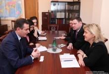 Հանդիպում ԱԺ արտաքին հարաբերությունների մշտական հանձնաժողովում
