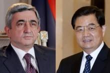 China, Armenia pledge to promote ties