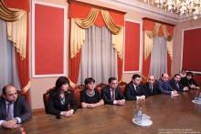 ՀՀ ԱԺ Հայաստան-Հունաստան բարեկամական խմբի անդամները հանդիպեցին Հունաստանի Հանրապետության խորհրդարանի նախագահի հետ
