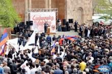 ՀՀԿ առաջնորդը խորհուրդ տվեց արարատցիներին գնահատել գործը, այլ ոչ թե խոստումները