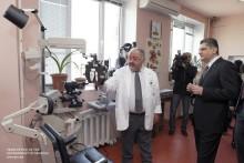 Վարչապետը ծանոթացել է Մալայանի անվան ակնաբուժական կենտրոնի զարգացման ծրագրերին