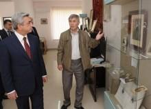 Շարունակվեց ՀՀ Նախագահի աշխատանքային այցը Սյունիքի մարզ