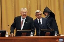 Սերժ Սարգսյանը մասնակցել է ԳԱԱ տարեկան ընդհանուր ժողովին