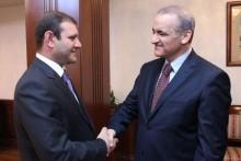 Քաղաքապետ Տարոն Մարգարյանը հանդիպել է Բեյրութի քաղաքապետ Բիլալ Համադի հետ
