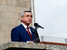 """There is nothing that can prevent us from safeguarding Armenia's development"" – Serzh Sargsyan."