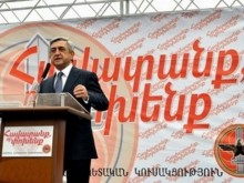 Серж Саргсян: «Путем успехов возможно идти только вместе, объединено, когда каждый ценит свой собственный голос»