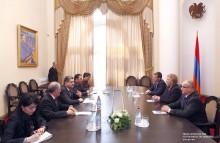 Վարչապետն ընդունել է Լատվիայի պետական եկամուտների ծառայության պատվիրակությանը