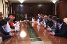 Քաղաքապետ Տարոն Մարգարյանը հանդիպել է արևելյան մարտարվեստների ֆեդերացիաների ղեկավարների հետ