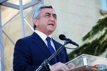 Սերժ Սարգսյանը համոզված է, որ աղքատությունն է հայ հասարակության գլխավոր թշնամին